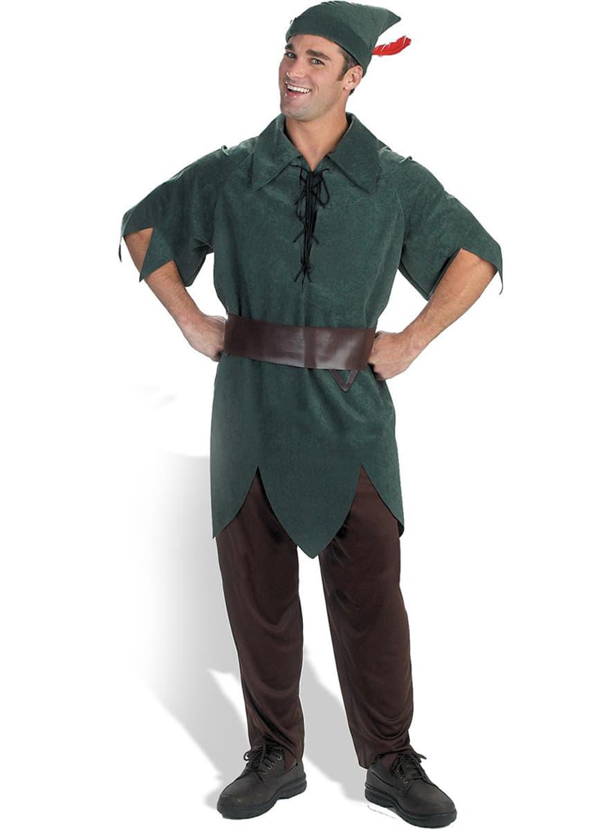 costume de peter pan adulte acheter chez funidelia au meilleur prix. Black Bedroom Furniture Sets. Home Design Ideas