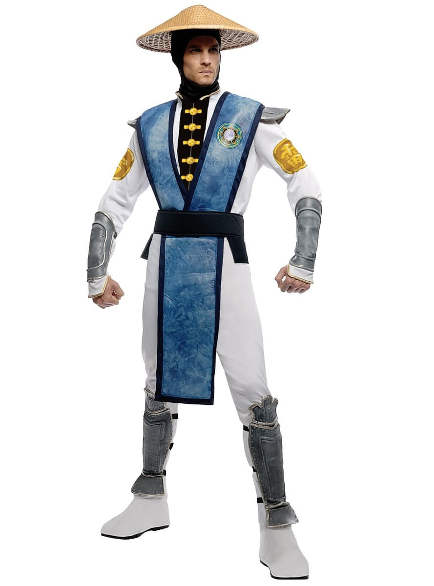 Disfraz De Raiden Mortal Kombat Adulto Comprar Online