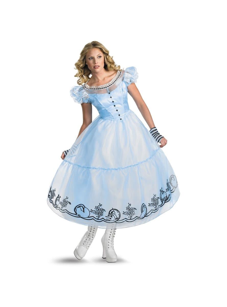 image Rubia en ver a través del vestido blanco