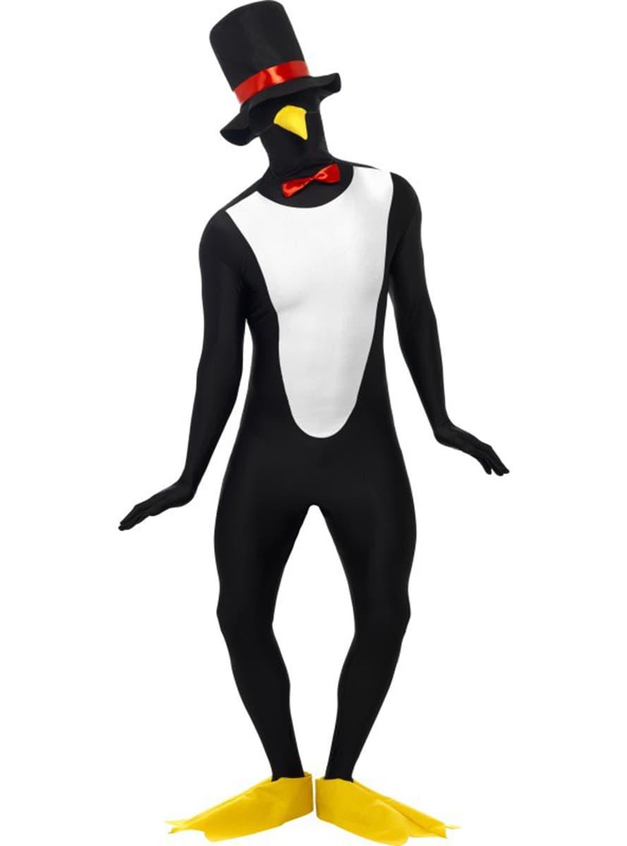 Pinguin Kostm Zweite Haut Funidelia