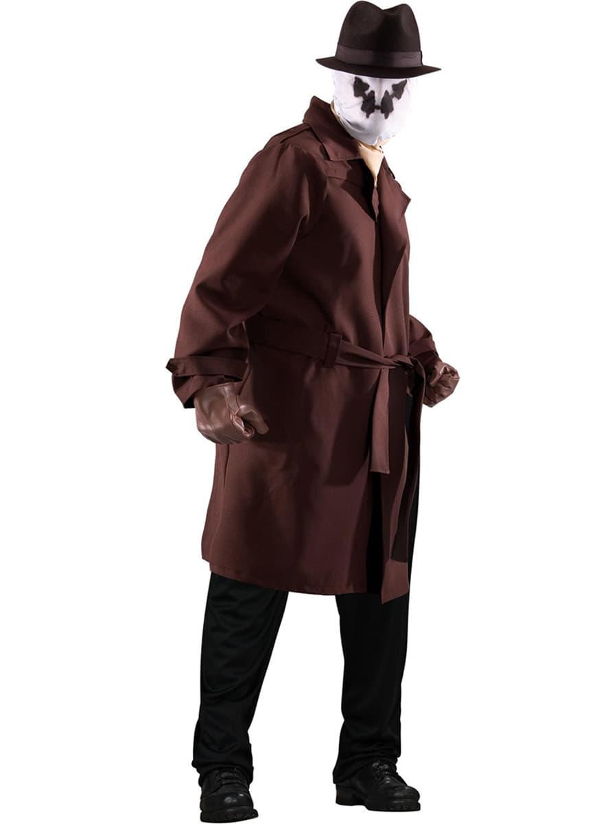 costume rorschach les gardiens homme grande taille acheter en ligne sur funidelia. Black Bedroom Furniture Sets. Home Design Ideas