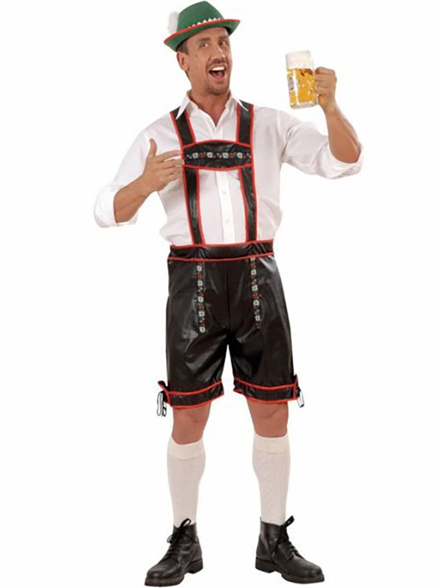 lederhosen kost m f r herren in lederoptik. Black Bedroom Furniture Sets. Home Design Ideas