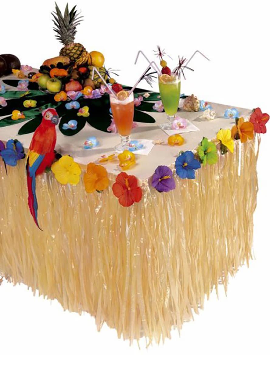 D coration de table hawa avec fleurs acheter en ligne for Acheter decoration