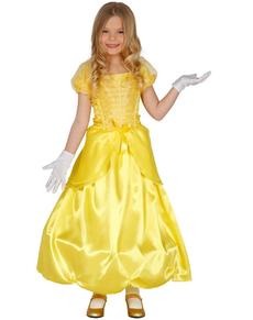 disfraz de princesa bella para nia