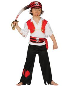 disfraz de pirata salvaje para nio