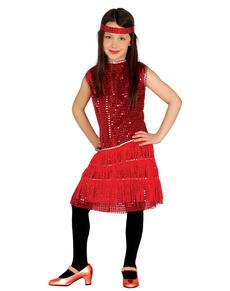 disfraz de charlestn rojo para nia