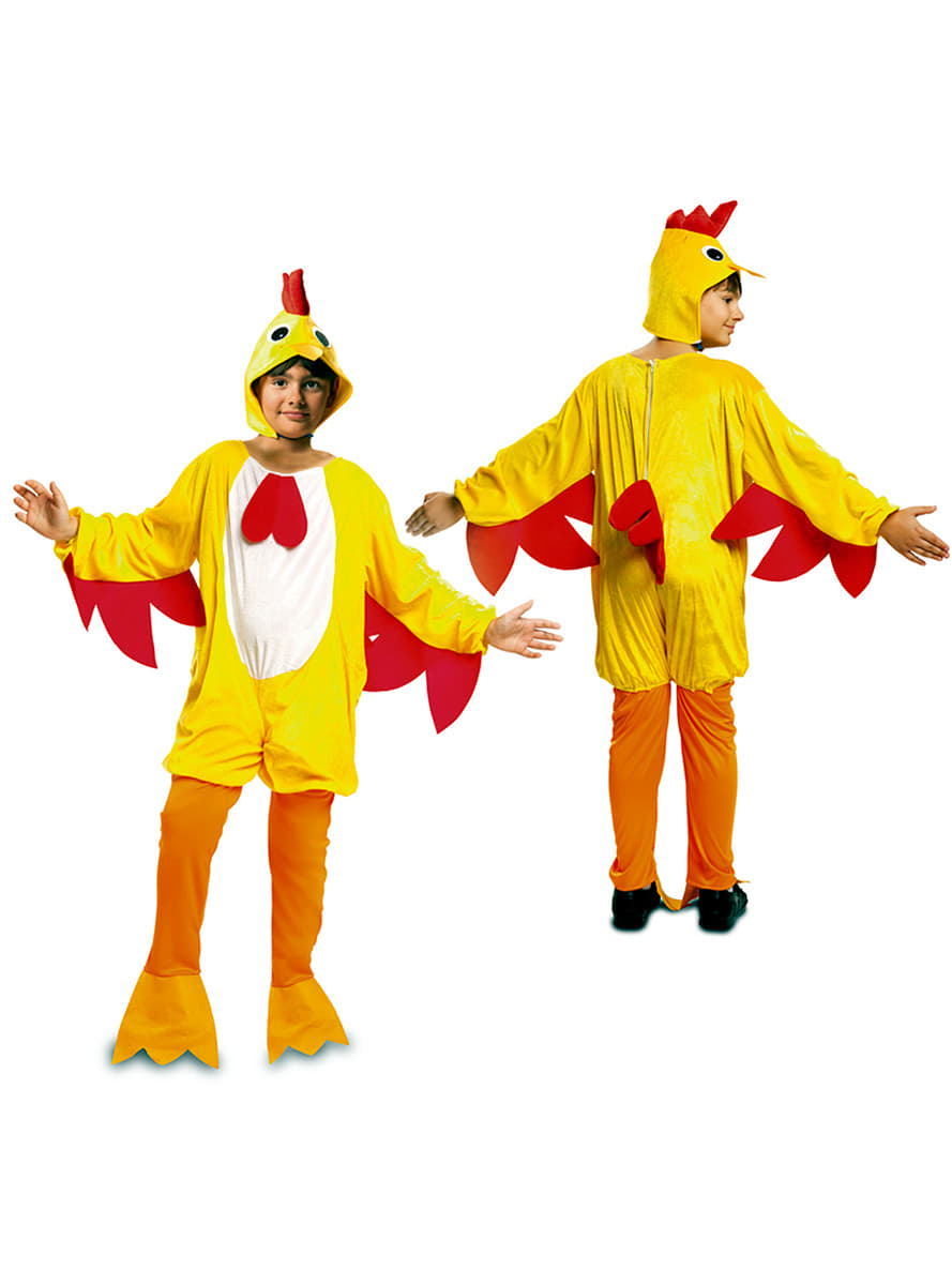 disfraz de gallo del gallinero para nio