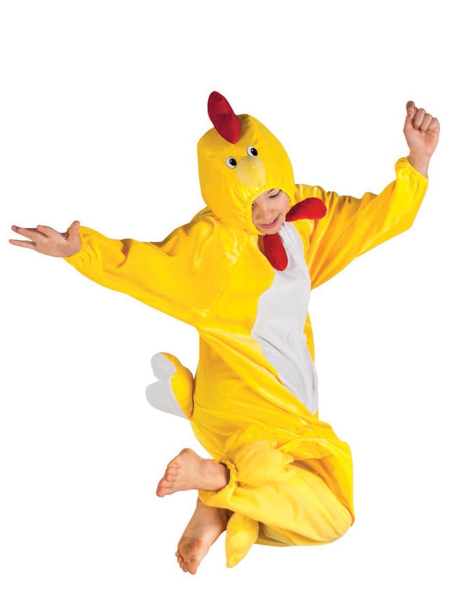 disfraz de pollo de peluche para nio