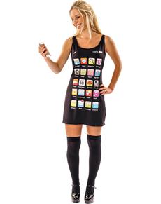 disfraz de smartphone para mujer