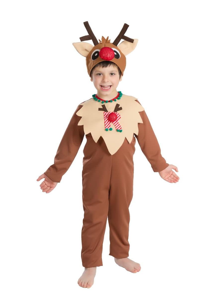 Reindeer Boy Child Costume Buy Online At Funidelia